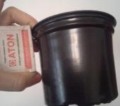 стакан для рассады круглый с отверстиями 300мл 10шт