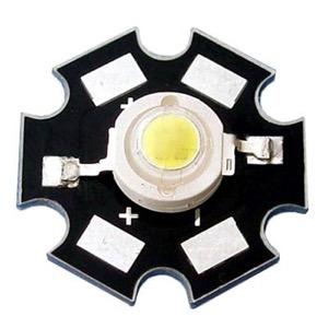 Светодиод, смонтированный на радиаторе-звезде