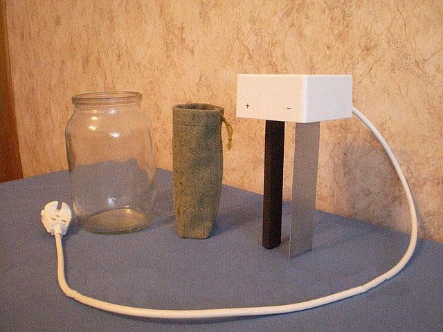 Как сделать прибор для живой воды